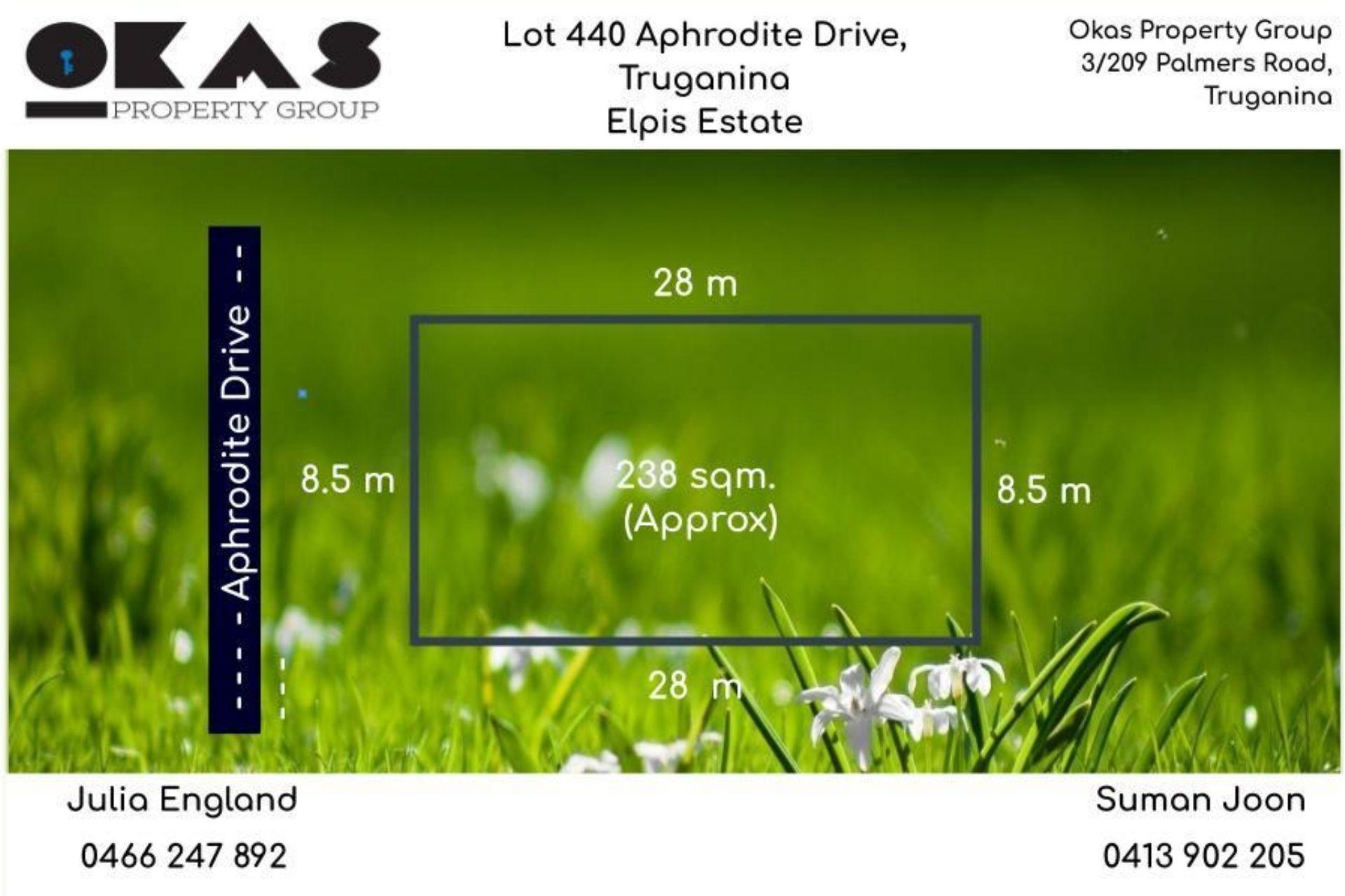 Lot 440,  Aphrodite Drive Truganina VIC 3029