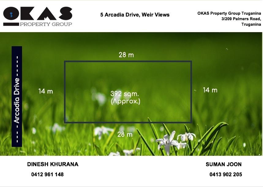 5 Arcadia Drive Weir Views VIC 3338