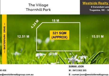 Lot 149,  Baxterpark Drive Thornhill Park VIC 3335