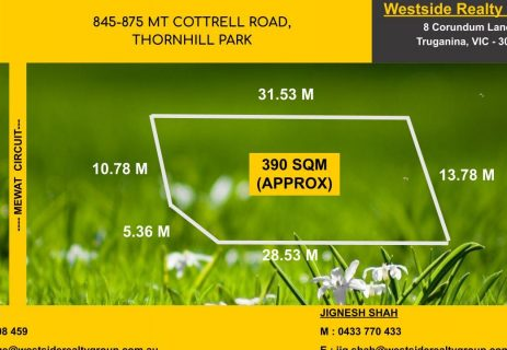 Lot 220, 845 – 875 Mount Corttell Road Thornhill Park VIC 3335