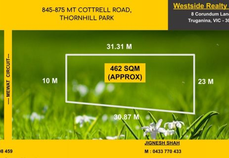 Lot 235, 845 – 875 Mount Corttell Road Thornhill Park VIC 3335