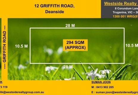 12 Griffith Road Deanside VIC 3336