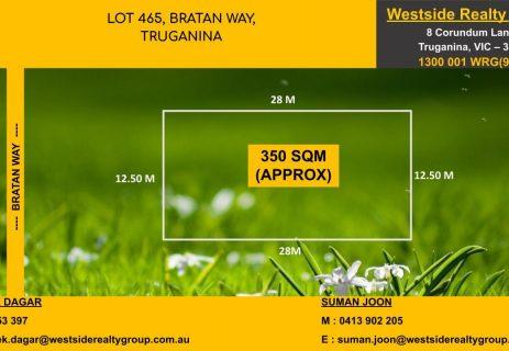 Lot 465,  Bratan Way Truganina VIC 3029